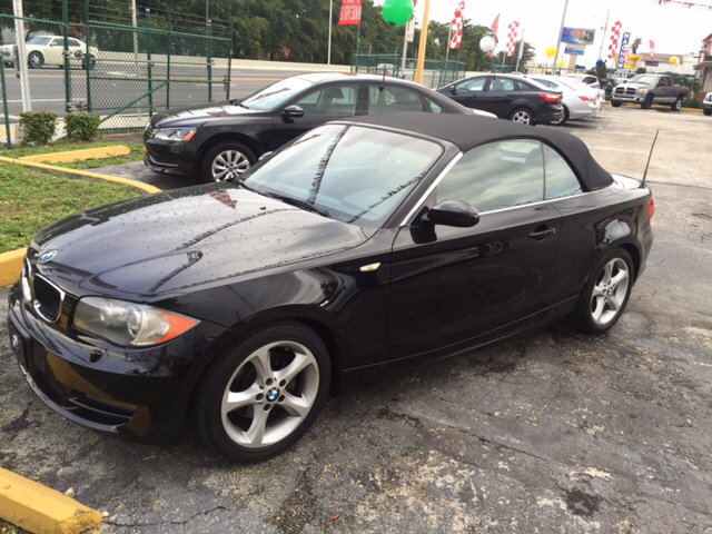 2008 bmw 1 series 128i 2dr convertible in hialeah fl barbara motors inc. Black Bedroom Furniture Sets. Home Design Ideas