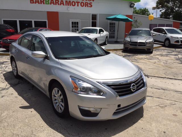 2015 nissan altima 2 5 s 4dr sedan in hialeah fl barbara for Barbara motors inc hialeah fl