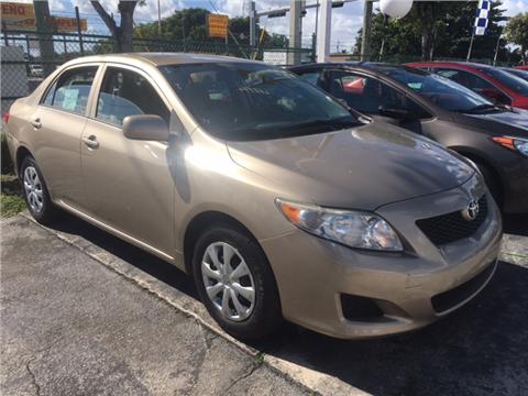 2010 Toyota Corolla for sale in Hialeah, FL