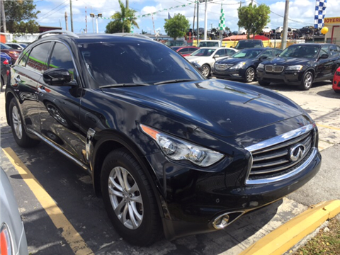 2013 Infiniti FX37 for sale in Hialeah, FL