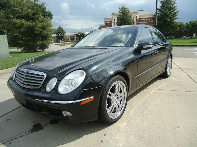 2004 mercedes benz e class e500 4dr sedan in newport news for Mercedes benz newport news