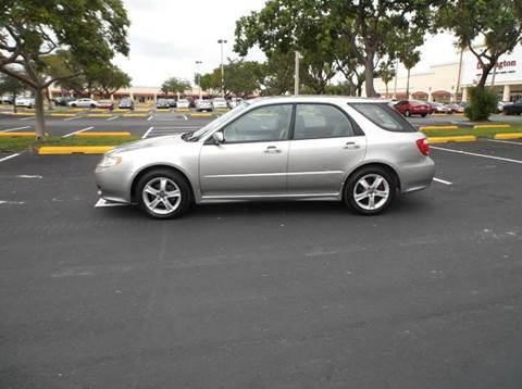 2005 Saab 9-2X for sale in Hollywood, FL