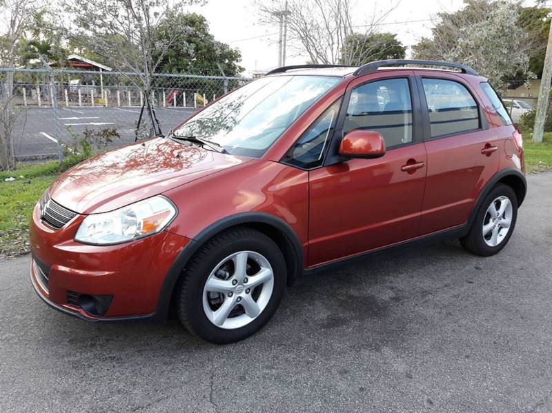 2008 suzuki sx4 crossover base 4dr crossover 4a in pompano. Black Bedroom Furniture Sets. Home Design Ideas