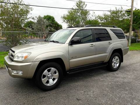 2004 Toyota 4Runner for sale in Pompano Beach, FL