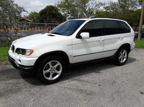 2002 BMW X5 for sale in Pompano Beach, FL