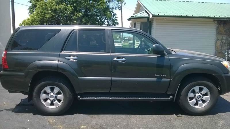 2007 toyota 4runner sr5 4dr suv 4wd v6 in forrest city ar bokkers used cars inc. Black Bedroom Furniture Sets. Home Design Ideas