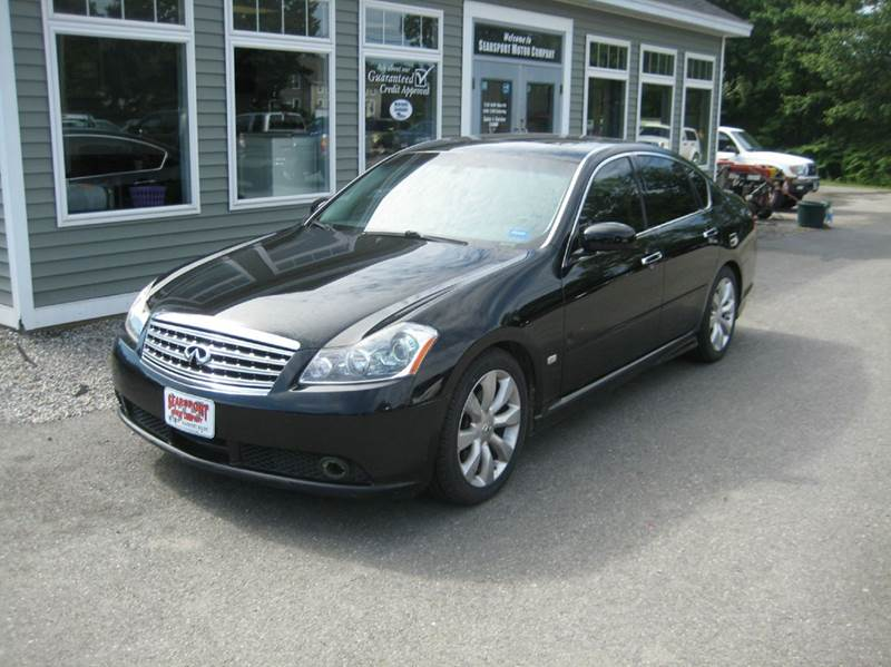 2006 infiniti m35 sport 4dr sedan in searsport me. Black Bedroom Furniture Sets. Home Design Ideas