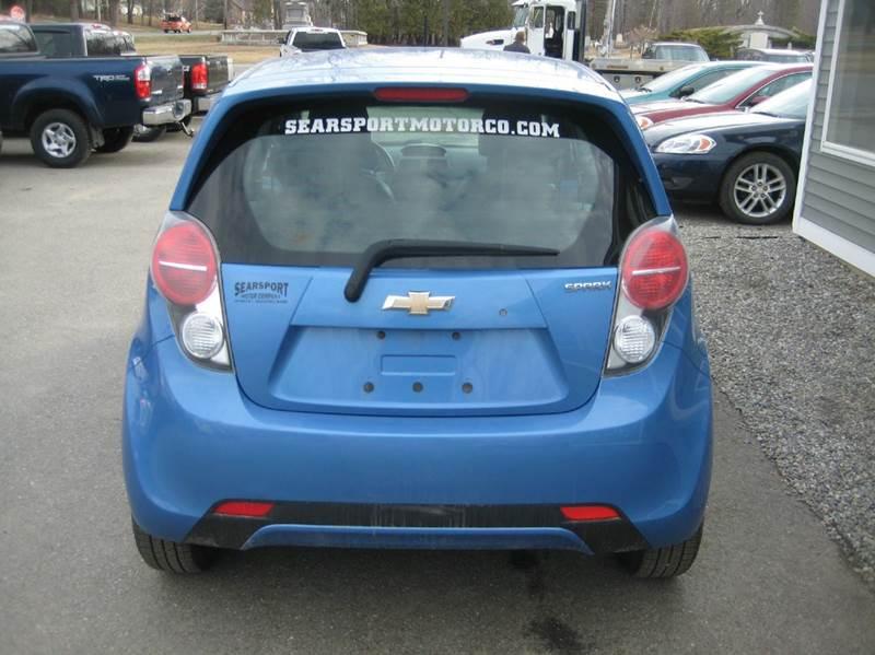 2014 Chevrolet Spark 1LT CVT 4dr Hatchback - Searsport ME