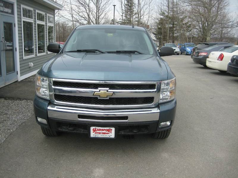 2009 Chevrolet Silverado 1500 4x4 LT 4dr Crew Cab 5.8 ft. SB - Searsport ME