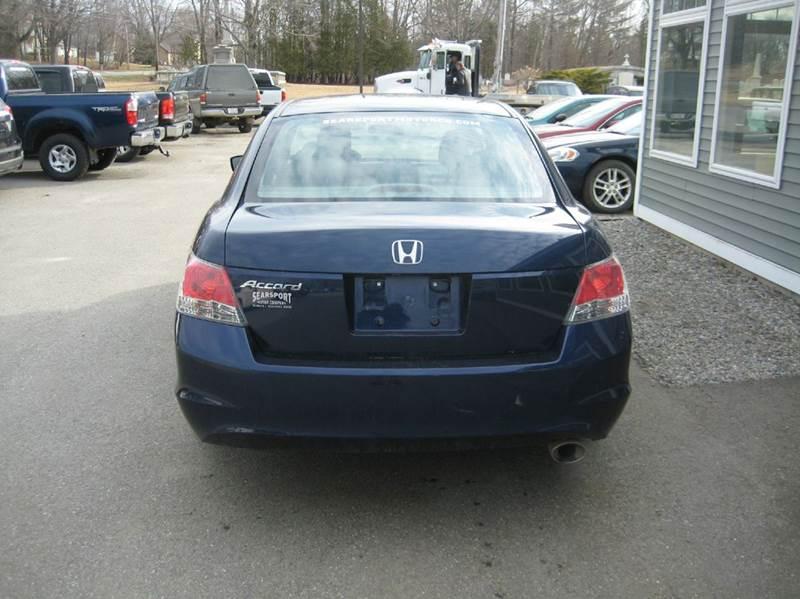 2009 Honda Accord EX 4dr Sedan 5A - Searsport ME