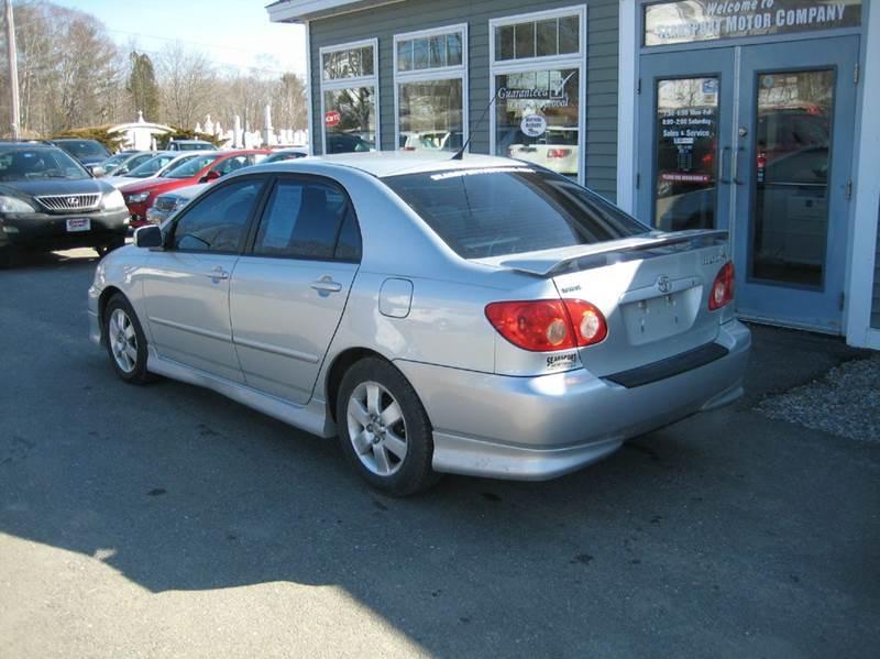 2007 Toyota Corolla CE 4dr Sedan (1.8L I4 4A) - Searsport ME