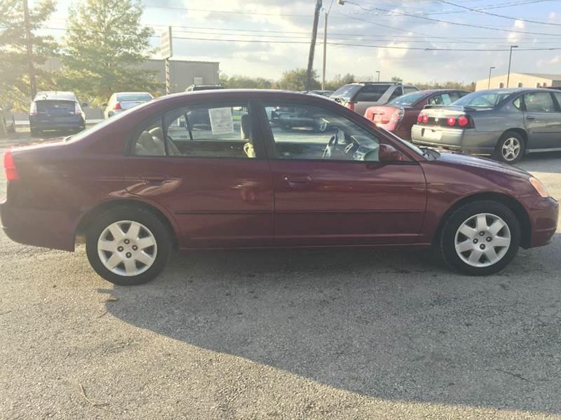 2002 Honda Civic EX 4dr Sedan - Kansas City MO