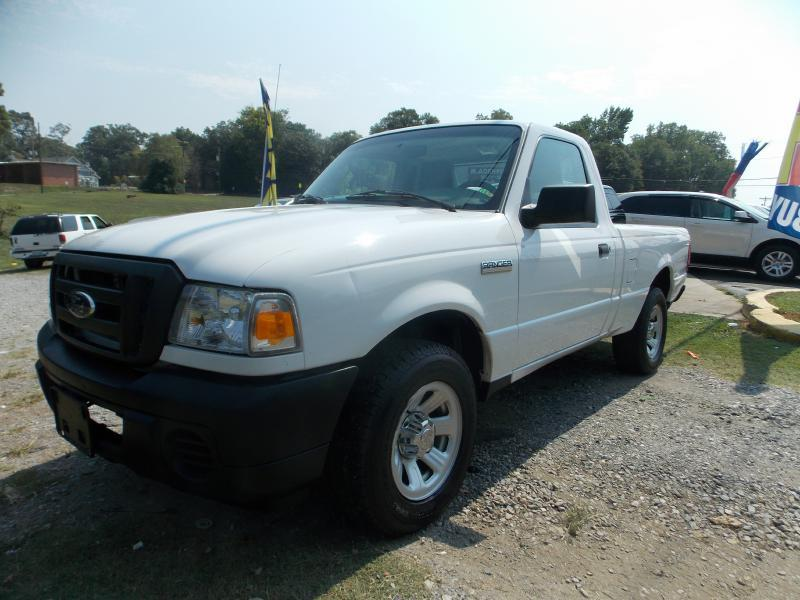 2011 FORD RANGER XL 4X2 2DR REGULAR CAB SB white guaranteed financing for everyonewith ra