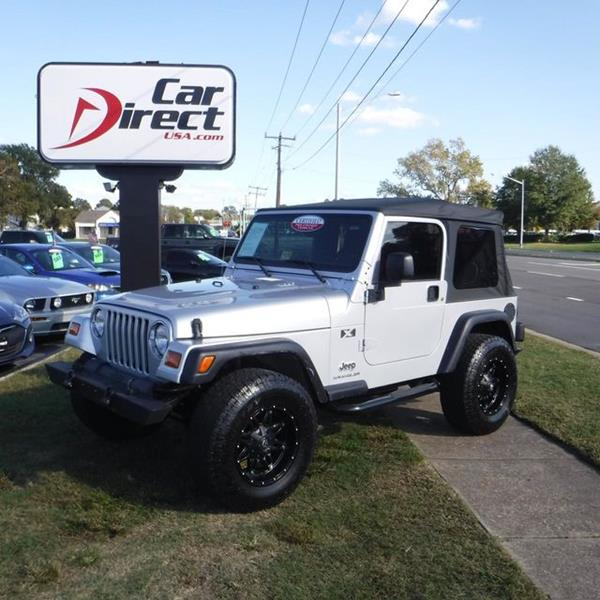 used 2003 jeep wrangler for sale in virginia. Black Bedroom Furniture Sets. Home Design Ideas