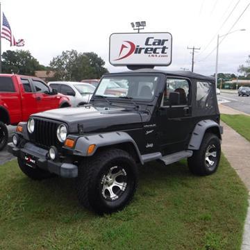 2002 Jeep Wrangler for sale in Virginia Beach, VA