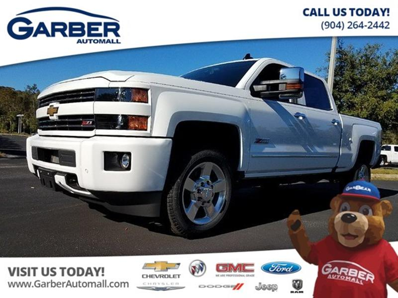 2018 Chevrolet Silverado 2500Hd LT In Green Cove Springs FL - Garber