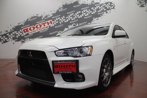 2012 Mitsubishi Lancer Evolution For Sale In Longmont, CO