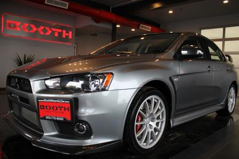 2012 Mitsubishi Lancer Evolution for sale in Longmont, CO