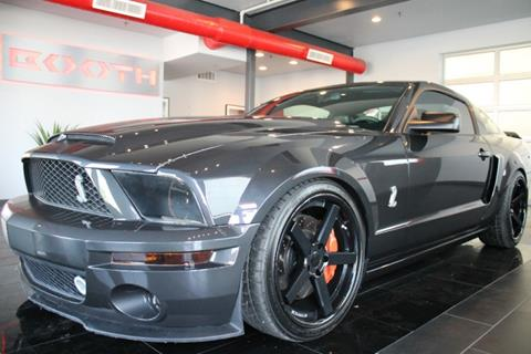 Ford Shelby Gt500 For Sale