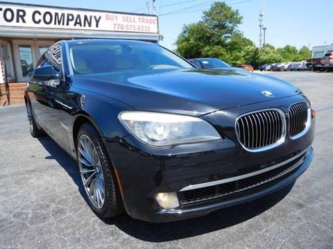 2009 BMW 7 Series for sale in Marietta, GA