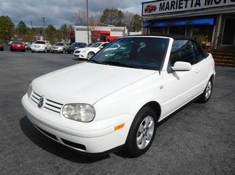2001 Volkswagen Cabrio for sale in Marietta, GA