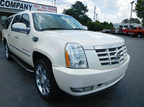 2007 Cadillac Escalade ESV for sale in Marietta, GA