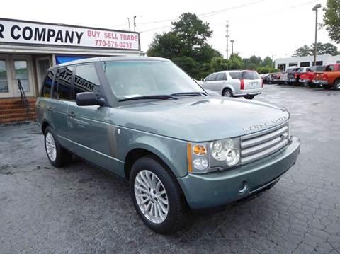 2003 Land Rover Range Rover for sale in Marietta, GA