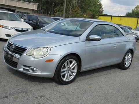 volkswagen eos for sale winston salem nc. Black Bedroom Furniture Sets. Home Design Ideas