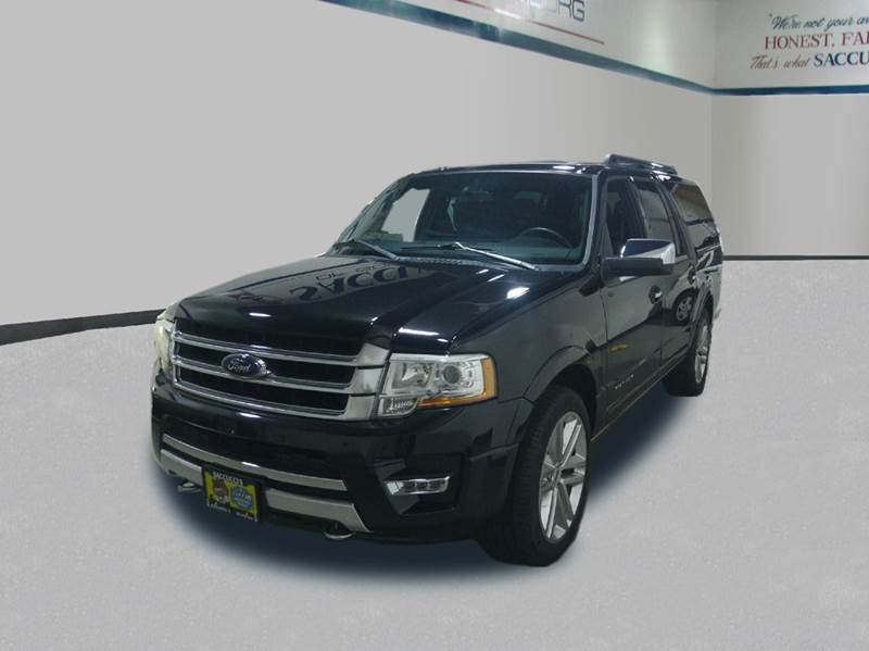2015 Ford Expedition EL Platinum 4x4 4dr SUV - Schaumburg IL