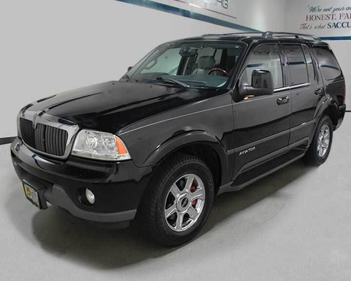 2004 lincoln aviator awd luxury 4dr suv in schaumburg il. Black Bedroom Furniture Sets. Home Design Ideas
