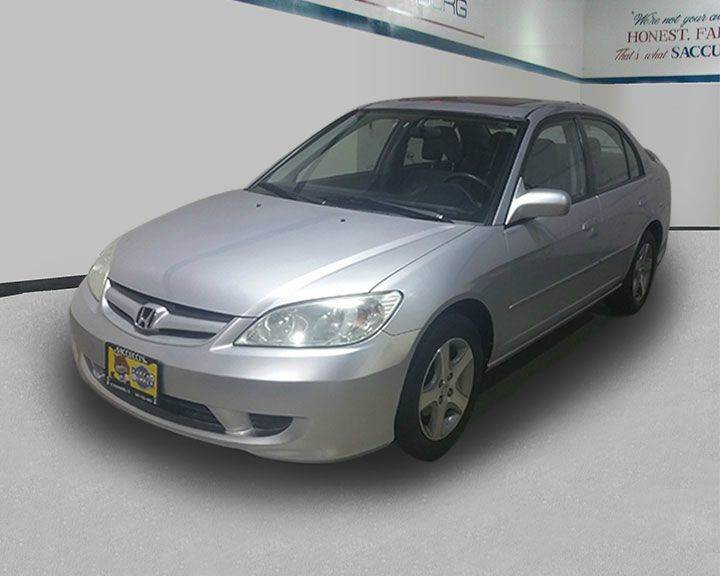 2004 Honda Civic Ex 4dr Sedan W Side Airbags In Schaumburg