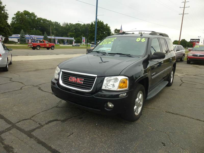 2006 gmc envoy xl slt 4dr suv 4wd in clinton township mi. Black Bedroom Furniture Sets. Home Design Ideas