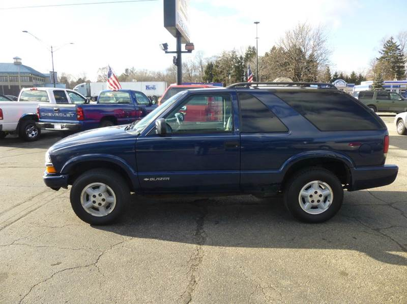 2000 Chevrolet Blazer 2dr LS 4WD SUV - Clinton Township MI