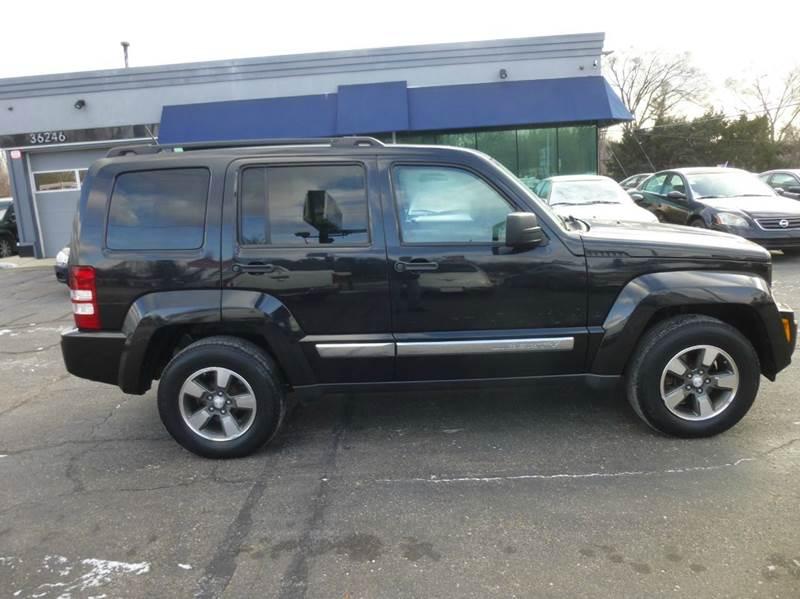 2008 Jeep Liberty 4x4 Sport 4dr SUV - Clinton Township MI
