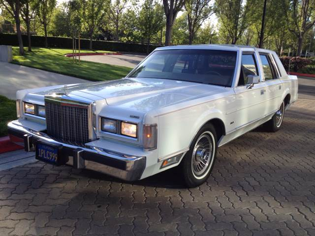 used 1986 lincoln town car in san ramon ca at truck van country. Black Bedroom Furniture Sets. Home Design Ideas