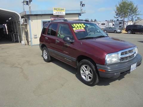 2003 Chevrolet Tracker for sale in Santa Rosa, CA