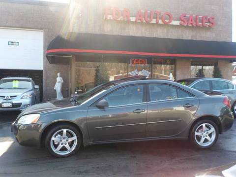 2007 Pontiac G6 for sale in Springfield, MA