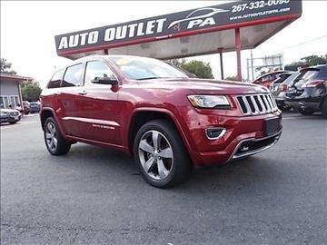 2014 Jeep Grand Cherokee for sale in Philadelphia PA