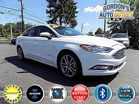 2017 Ford Fusion Hybrid for sale in Philadelphia PA