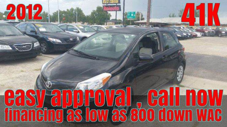 Toyota Yaris For Sale In Oklahoma Carsforsale Com