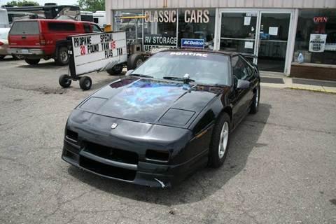 1988 Pontiac Fiero for sale in Westland, MI