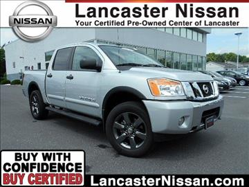 2015 Nissan Titan for sale in East Petersburg, PA