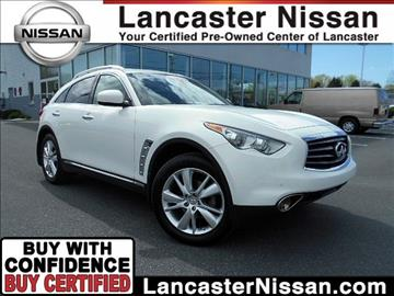 2012 Infiniti FX35 for sale in East Petersburg, PA