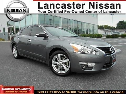2015 Nissan Altima for sale in East Petersburg PA