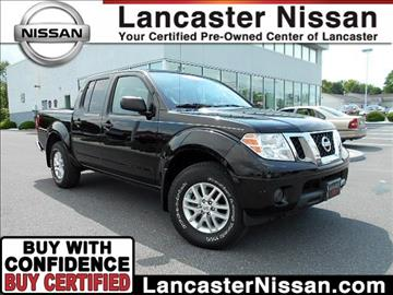 2015 Nissan Frontier for sale in East Petersburg, PA