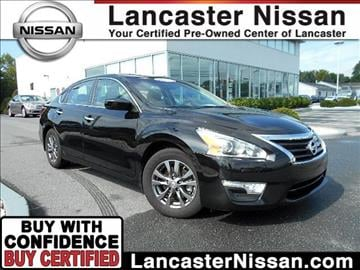 2015 Nissan Altima for sale in East Petersburg, PA