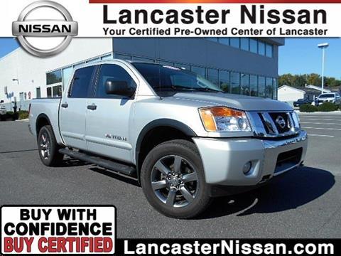 2015 Nissan Titan for sale in East Petersburg PA