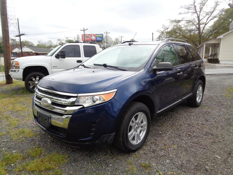 Ford Edge Se Dr Crossover