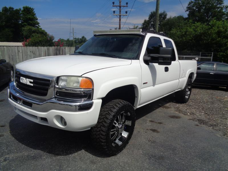 2005 gmc sierra 2500hd for sale in south carolina. Black Bedroom Furniture Sets. Home Design Ideas