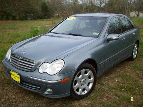 2005 mercedes benz c class for sale houston tx for Mercedes benz for sale in houston